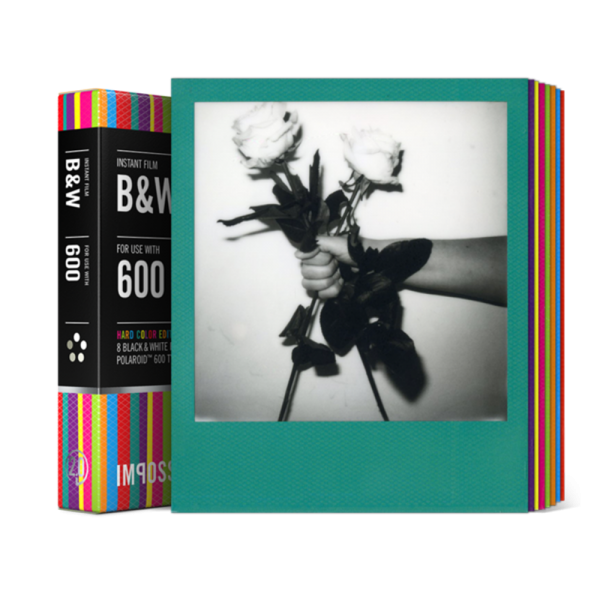 Impossible Instant Black And White Film With Hard Color Frames For