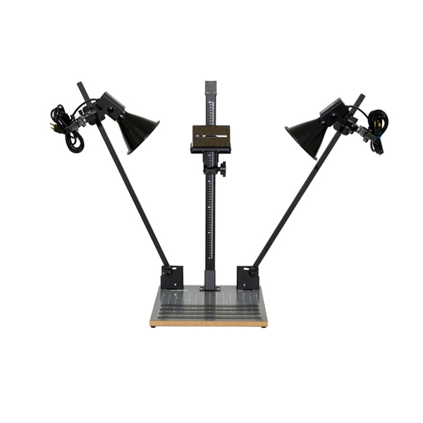 Light Stand Ground: Beseler CSK-14 Copy Stand Kit With Lights