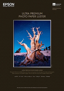 Epson Ultra Premium Photo Luster 240gsm Inkjet Paper 17x22/25 sheets
