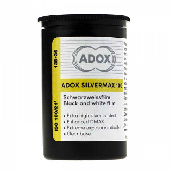 Adox Silvermax 100 ISO 35mm x 36 exp.
