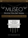 Museo Portfolio Rag Inkjet Paper - 300gsm 17 in. x 50 ft. Roll