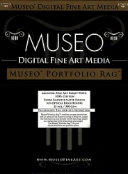 Museo Portfolio Rag Inkjet Paper - 300gsm 36 in. x 50 ft. Roll