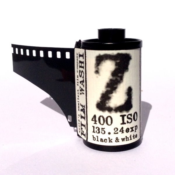"Film Washi ""Z"" 400 ISO 35mm x 36 exp. - Re-purposed Specialty Film"
