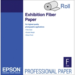 Epson Exhibition Fiber Inkjet Paper - 325gsm 64 in. x 50 ft. Roll