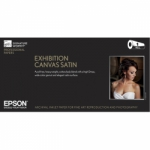 Epson Exhibition Canvas Satin Inkjet Paper - 430gsm 44 in. x 40 ft. Roll