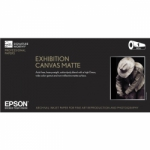 Epson Exhibition Canvas Matte Inkjet Paper - 395gsm 24 inch x 40 ft. Roll
