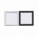 Gepe 6x6cm Glassless Slide Mount with Metal Mask - 20 pack