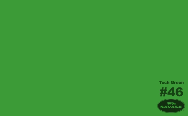 Savage Seamless Background Paper Tech Green - 53 in. x 12 yds.