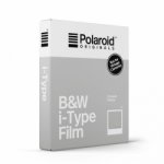 Polaroid Originals Black and White Film for i-Type - 8 Exp. - White Frame