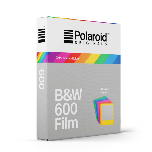 Polaroid Originals Black And White Film For 600 8 Exp Color Frame