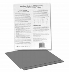 Delta Gray Cards - 8 in. x 10 in. (2 Pack)