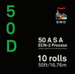 QWD Kodak Vision3 5203 50D 35mm x 55 ft. Bulk Roll - EDGE FOG