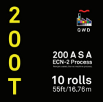 QWD Kodak Vision3 5213 200T 35mm x 55 ft. Bulk Roll - EDGE FOG