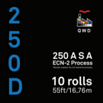 QWD Kodak Vision3 5207 250D 35mm x 55 ft. Bulk Roll - EDGE FOG