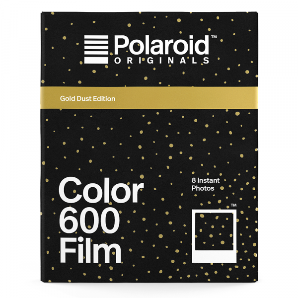 Polaroid Originals Color Film for 600 - 8 Exp. - Gold Dust