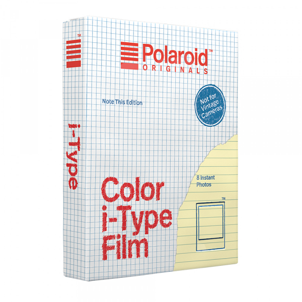Polaroid Color i-Type Note This Edition