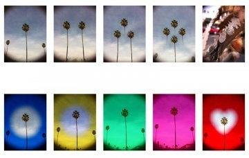 Sample images from the Holga Lens and Filter Case  by Maria Ruvalcaba