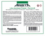 Arista Powder A&B Litho Developer - 1 Gallon