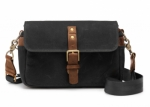 ONA Bowery Canvas Camera Bag and Insert - Black