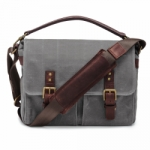 ONA Prince Street Canvas Camera Messenger Bag - Smoke Gray