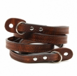 ONA Sevilla Camera Leather Strap - Root Beer