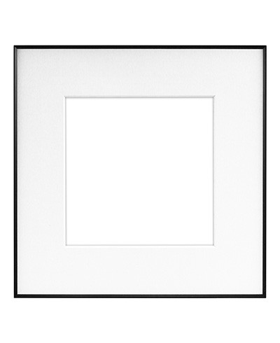 Framatic Fineline 8x8 Black Frame with Single 5x5 Mat | Freestyle ...