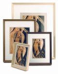 Framatic Woodworks Dark Espresso  5x7 Frame with 5x7 Mat