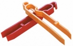 Arista Plastic Print Tongs (Set of 2)