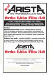 Arista Ortho Litho Film 3.0 - 14x17/10 Sheets