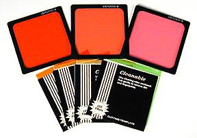 Lee Tungsten Fluorescent Set 4x4 Polyester Filters