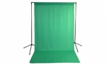 Savage Economy Background Support Stand with Green Backdrop