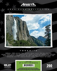 Arista Americana Collection Inkjet Fabric Yosemite- 260gsm 44 in x 40 ft. roll