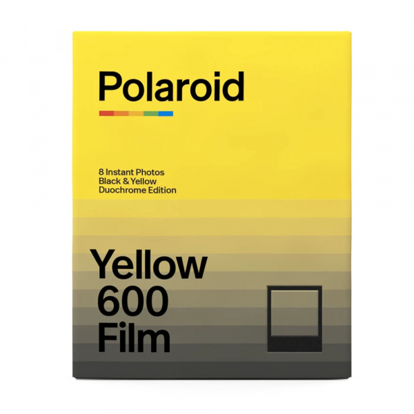 Polaroid Black & Yellow 600 Film – Duochrome Edition