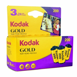 Kodak Gold 200 ISO 35mm x 24 exp. (3-Pack)