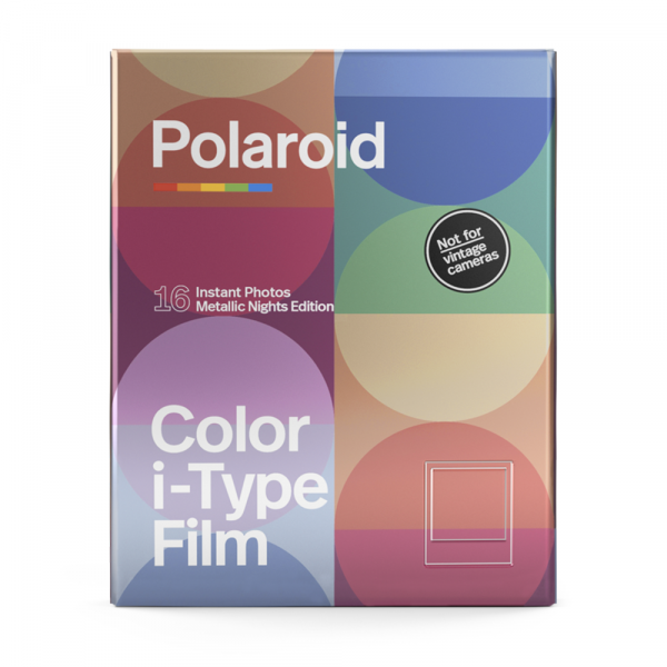 Poloarid Color I-Type Film - Metallic Nights Edition - Double Pack