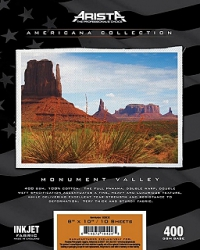 Arista Americana Collection Inkjet Fabric Monument Valley- 400gsm 44 inch x 40 ft. Roll