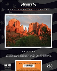 Arista Americana Collection Inkjet Fabric Sedona- 260gsm 24 in. x 40 ft. Roll