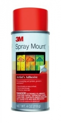 3M Scotch® Spray Mount Repositionable Adhesive - 4 oz.