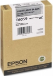 Epson UltraChrome K3 Light Light Black Ink Cartridge (T606900) for 4800 and 4880 Inkjet Printer - 220ml