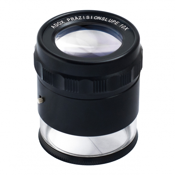 Adox Precision Loupe 10x With Built In Led Ring Light
