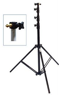 Savage 10 foot Heavy Duty Air Cushioned 3 section Light Stand #LS-B10AC