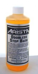 Arista Premium Odorless Stop Bath - 16 oz. (Makes 4 Gallons)