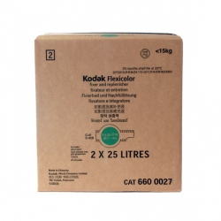 Kodak Flexicolor Fixer and Replenisher - Makes 50 Liters (2 Bottle Pack)