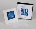 Cyanotype Store 6 in. x 6 in. Notecard Kit with Envelopes - 6 Pack