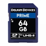 Delkin Devices 64GB Secure Digital (SDXC) 1900X UHS-I/II U3 - Memory Card