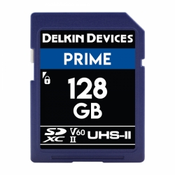 Delkin Devices 128GB Secure Digital (SDXC) 1900X UHS-I/II U3 - Memory Card