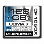 Delkin Cinema 128GB Compact Flash (CF) UDMA 7 - Memory Card