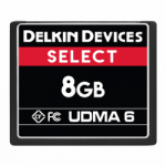 Delkin Select 8GB Compact Flash (CF) UDMA - Memory Card