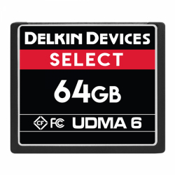 Delkin Select 64GB Compact Flash (CF) UDMA 6 - Memory Card