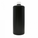 Arista Storage Bottle - Round Black - 32 oz.